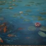 Sienas gleznojums baseina telpā