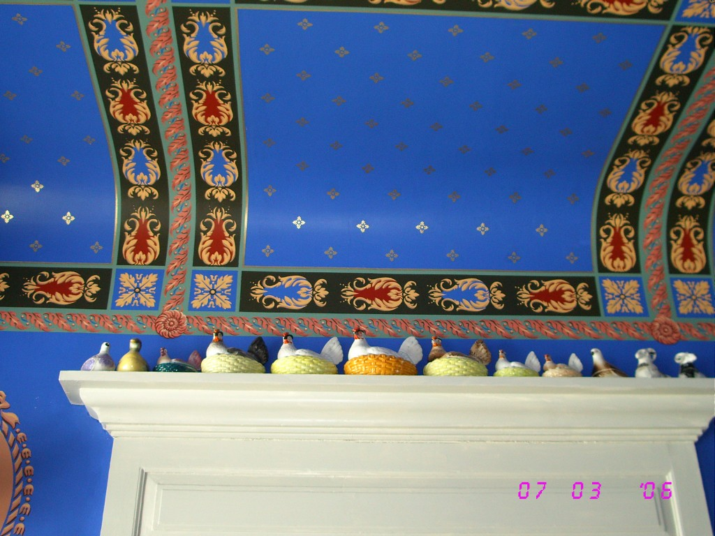 Wall and ceiling painting