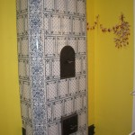 Sienas gleznojums, krāsns restaurācija un apgleznojums