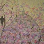 Ķiršu ziedu migla Londonā. 2010