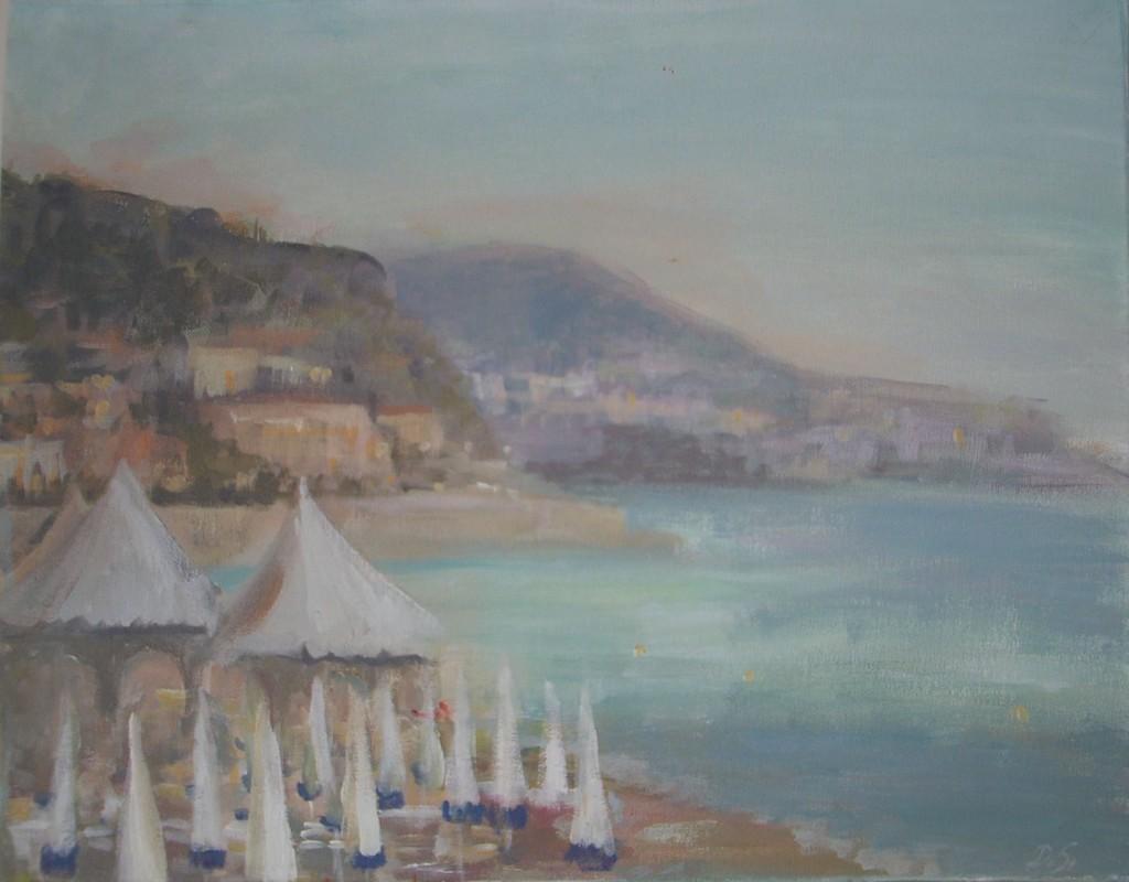 Opera beach (Opera Plage). Nica  2009