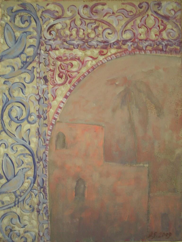 Enjoyment of Hammam bath. Maroc. 2009