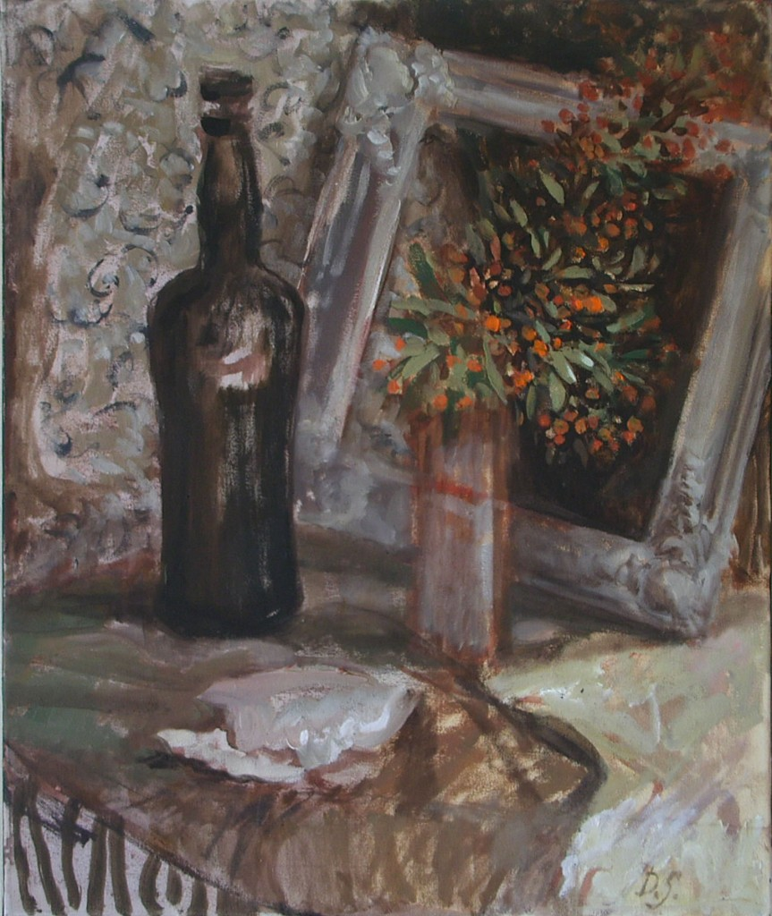 Still life with oyster. 2011
