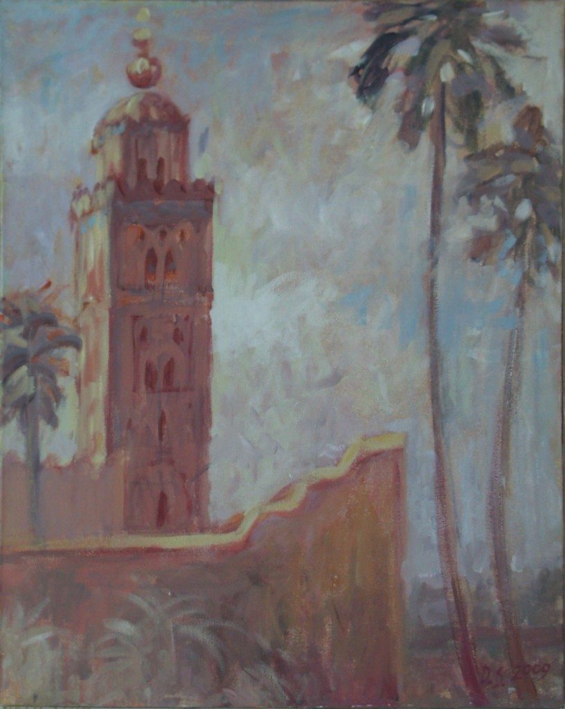 Kutubia, Marrakech, Maroc. 2009