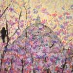 Londonas ķiršu ziedu migla