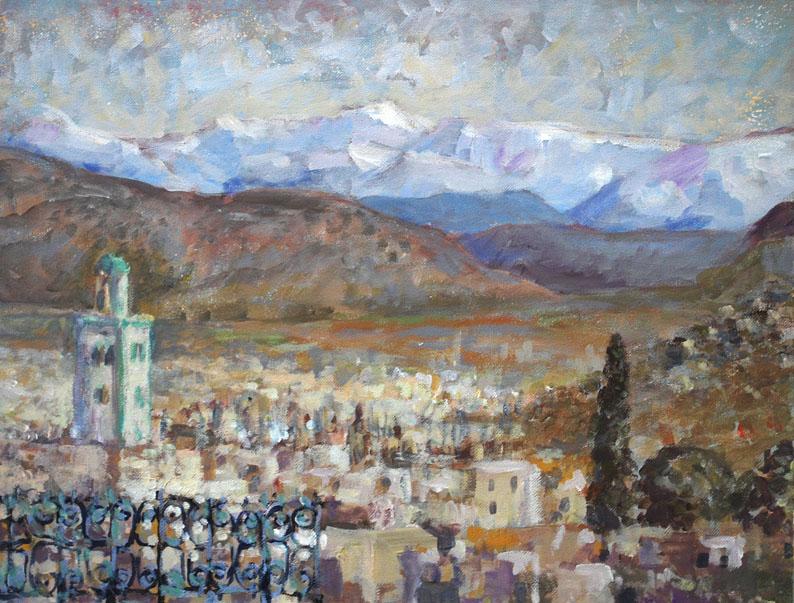 Sefrou. Marocco